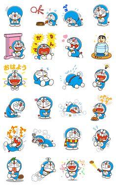 画像 - Doraemon Animated Stickers by Fujiko-Pro - Line. Cute Disney Wallpaper, Cute Wallpaper Backgrounds, Galaxy Wallpaper, Doremon Cartoon, Cute Cartoon Characters, Doraemon Wallpapers, Cute Cartoon Wallpapers, Emoji Drawings, Cute Drawings