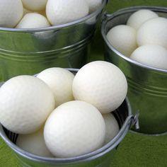 Golf ball soaps - bubblegenius.etsy.com