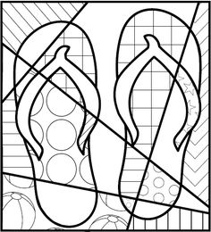 Summer Activities Free - Interactive Coloring Sheet -also great for end of the year activities. holiday activities summer Pop Art Interactive Flip Flops - Great End of the Year Activity - FREE! End Of Year Activities, Art Activities, Summer Activities, Interactive Activities, Summer Crafts, Summer Art, Summer Colors, Free Summer, Spring Summer