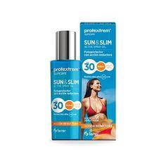 Protextrem Sun Slim Aceite Fotoprotector con Acción Reductora SPF30, 200 ml