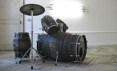 Música y Vino - Batería de barriles