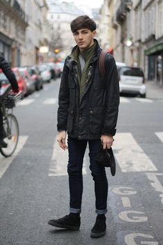 BARBOUR STYLE (by Jordan Henrion) http://lookbook.nu/look/3069033-BARBOUR-STYLE