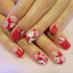 Chinese new year nail