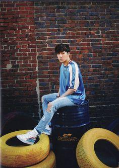 "Infinite Sunggyu ""Best Of INFINITE Album Scans © La Esperanca | Do not edit. """