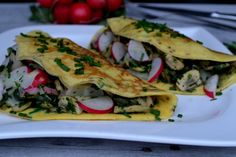 ako pripravit plnene omeletky