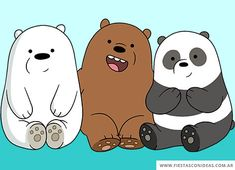 If you haven't already head about We Bare Bears already, where have you been? These three little bears are taking over the World. Wallpaper Wa, Cute Panda Wallpaper, Cute Disney Wallpaper, We Bare Bears Wallpapers, Panda Wallpapers, Cute Cartoon Wallpapers, Wallpaper Spongebob, We Bear, Friends Wallpaper