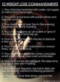 Weight Loss Commandments   #plexus #plexusslim #plexusworldwide #diet #weightloss #health #pinkdrink