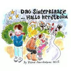 'Dag Sinterklaasje...Hallo kerstboom' - Blond Amsterdam
