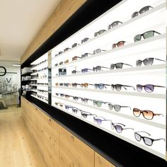 Eyewear Shop, Optical Shop, Store Design, Feng Shui, Photo Wall, David, Frame, Shopping, Home Decor