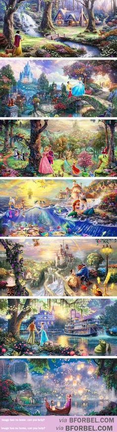 Disney Thomas Kincade