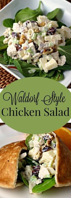Hypoallergenic Pet Dog Food Items Diet Program Waldorf Style Chicken Salad Renee's Kitchen Adventures: Recipe For A Great Variation On Ordinary Chicken Salad With Apples, Walnuts And Dried Cranberries Waldorf Chicken Salad, Chicken Salad With Apples, Chicken Salad Recipes, Salad Chicken, Chicken Kabobs, Cooked Chicken, Chicken Wraps, Cranberry Salad, Cranberry Walnut Chicken Salad