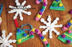 Kids Homemade Ornaments