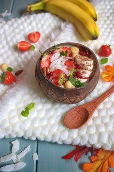 Banánová kaše Hummus, Ethnic Recipes, Food, Essen, Meals, Yemek, Eten