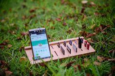 Memory cell phone holder