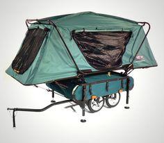 Midget Bushtrekka Bicycle Trailer with Tent