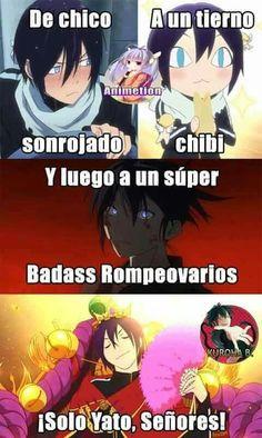 49 Ideas for memes anime noragami Anime Meme, Otaku Anime, Manga Anime, Anime Art, Yatogami Noragami, Yato And Hiyori, Girls Anime, Anime Guys, Funny Quotes Wallpaper