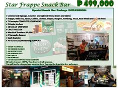 SimpleSite.com - Editing Food Cart Franchise, Star Snacks, Snack Bar, Frappe, Something To Do, Ph