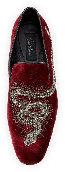 DONALD J PLINER...with sleek snake embroidery!