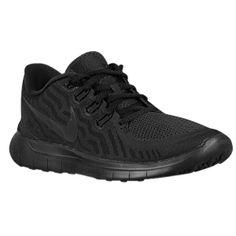 Nike Free 5.0 Black/Black/Anthracite