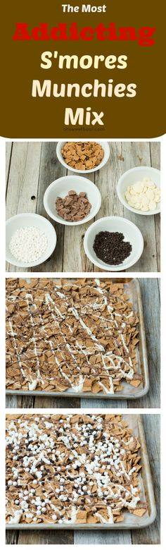 S'mores Munchies Mix! on ohsweetbasil.com