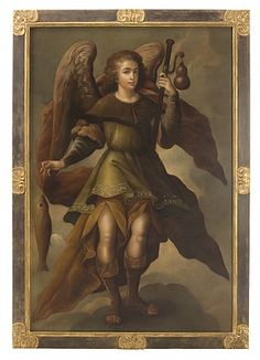 Ebanista Portrait of San Rafael
