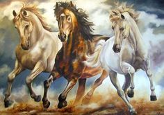 José Eliseu Horse Pictures, Pictures To Draw, Horse Cards, Horse Wallpaper, Horse Artwork, Horse Portrait, Running Horses, Modern Art Paintings, Call Art