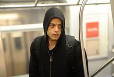 Mr. Robot: Elliot {subway} #MrRobot #ElliotAlderson #RamiMalek