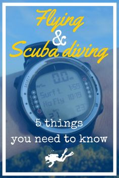 Flying and Scuba diving - 5 things you need to know before taking the plane with your scuba diving gear - World Adventure Divers - read more on https://worldadventuredivers.com/2015/04/06/flying-scuba-diving-5-things-you-need-to-know/ http://www.deepbluediving.org/cressi-giotto-dive-computer-review/