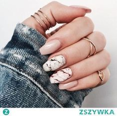 Gemstone look for the nails - Fascinating gemstones as inspiration for chic manicure Image Size: 736 x 736 Pin Boards Name: Nageldesign Bilder Classy Nails, Trendy Nails, Chic Nails, Classy Nail Designs, Silver Nails, Glitter Nails, Nude Nails, Coffin Nails, Pink Glitter