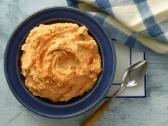 Creamy Mashed Sweet Potatoes from CookingChannelTV.com