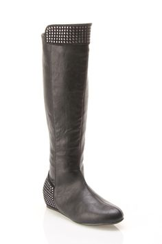Ermina Studded Knee High Boot