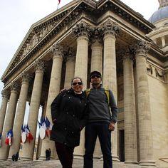 Pantheon Paris França. #paris #frança #france #europe #europa #tourist #tourism #vacation #ferias #viagem #trip #travel #youtube #youtubechannel #patriciaviaja #city #pantheon