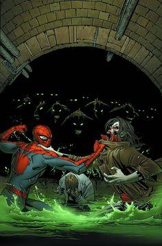 (Åmazing Spider-Man Vol.1 #690 Cover) By: Giuseppe Camuncoli
