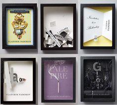 Vladamir Nabokov couture book covers