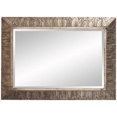 Howard Elliott Elrond Silver Leaf Mirror