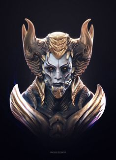 Practices and Streamings Dark Fantasy Art, Fantasy Artwork, Character Design References, Character Art, Humanoid Creatures, Alien Concept Art, Dark Art Drawings, Modelos 3d, Arte Horror
