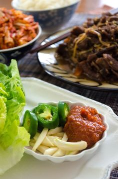 Bulgogi is one of the most popular Korean food that a lot of people are familiar with here in America. I've been seeing more Bulgogi recipes on blogs lately. I love Bulgogi, too. It was alway…