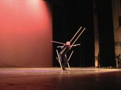 Gheorghe Iancu - Sticks Dance. Recreación de la danza de las varas de Schlemmer.