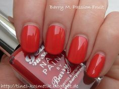 Barry M Gelly Passion Fruit || http://tines-kosmetik.blogspot.de/2014/04/barry-m-gelly-passion-fruit.html