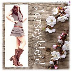 E-Book Jerseykleid by #allerlieblichst