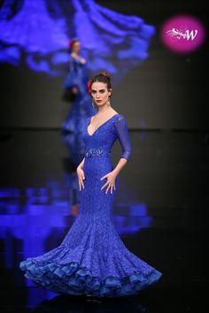 Simof 2018 - Consolación Ayala Flamingo Dress, Maje, Fishtail, Frocks, Flamenco Dresses, Mermaid, Costumes, Formal Dresses, Tango