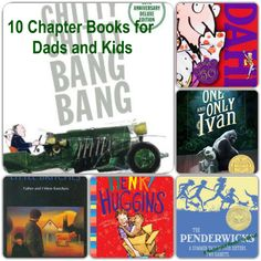 10 Chapter Books for Dads and Kids! #booklist #redeemedreader