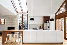Edwardian Timber Cottage Gets a Modern Makeover - https://freshome.com/Edwardian-home/