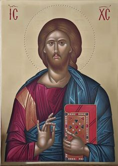 Christ Pantocrator, Roman Church, Jesus Christ Images, Mary Magdalene, Byzantine Art, Jesus Pictures, Orthodox Icons, Caligraphy, Tattoo Drawings