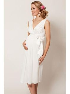 Mateřská Jednoduché Svatební Svatební šaty