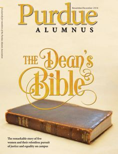 Purdue Alumnus Purdue Alumnus NovDec 2014