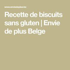 Recette de biscuits sans gluten | Envie de plus Belge Biscuit Sans Gluten, Gluten Free Treats, Gluten Free Shortbread Cookies, Powdered Sugar