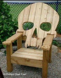 Awesome outdoor chair