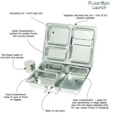 PlanetBox Launch is the best lunchbox for work or older kids