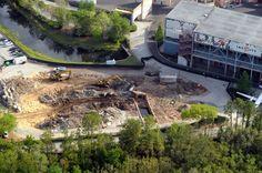 Catastrophe Canyon demolition